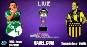 Partido Deportivo Cali vs Peñarol en vivo online