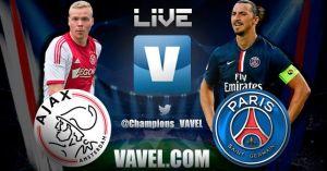 Ajax vs PSG en vivo y en directo online