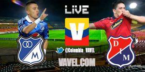 Millonarios vs Medellín, Liga Postobón en vivo online