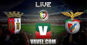 Resultado partido Sporting de Braga vs Benfica en vivo y en directo online