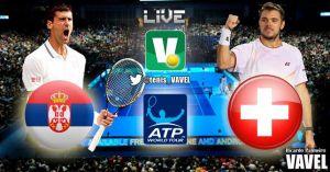 Djokovic vs Wawrinka en vivo y en directo online en el Masters de Londres 2014