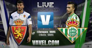 Real Zaragoza - Real Betis en directo online