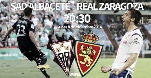 Albacete Balompié - Real Zaragoza: duelo por objetivos distintos