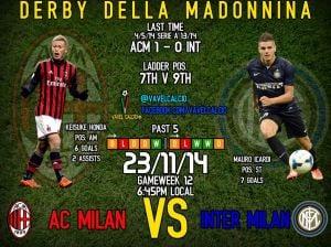 AC Milan v Internazionale Preview