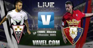 Albacete Balompié - Osasuna en directo online