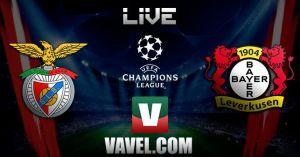 Benfica vs Bayer Leverkusen en vivo y directo online hoy