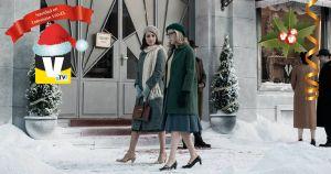 Navidad en TV: una cena improvisada en las Galerías Velvet