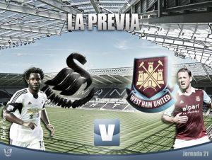 Swansea City - West Ham United: las malas rachas se cortan ganando