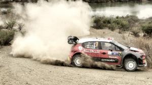 Meeke cerca de lograr la primera victoria del año para Citroën