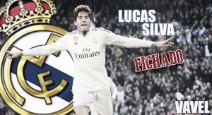 Lucas Silva, primer fichaje invernal del Real Madrid