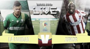 La Equidad vs Junior en vivo online (1-0)