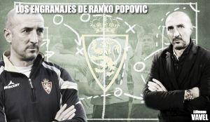 Los engranajes de Ranko Popovic:  Racing de Santander - Real Zaragoza