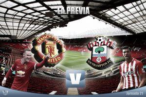 Manchester United - Southampton: aroma a revancha y carrera por la cima