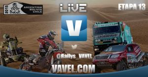 Resultado Live Dakar 2015:13ª etapa