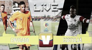 Cortuluá vs Envigado, Liga Águila 2015 en vivo y en directo (1-1)
