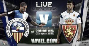 Sabadell - Real Zaragoza en directo online 0 - 0