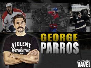 """Entrevista. George Parros: """"El hockey es un deporte violento pero no de jugadores violentos"""""""