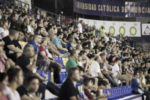 El UCAM Murcia CF completa el primer bus de aficionados para Elche