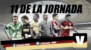 Once ideal de la 14ª jornada de la Bundesliga