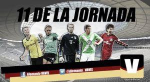Once ideal de la 24ª jornada de la Bundesliga