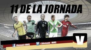 Once ideal de la 29ª jornada de la Bundesliga