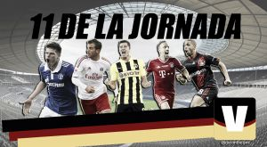 Once ideal de la 31ª jornada de la Bundesliga