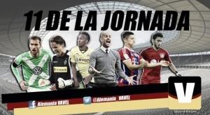Once ideal de la 19ª jornada de la Bundesliga