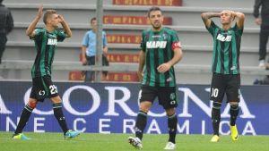 Udinese se levanta ante un Sassuolo peleón
