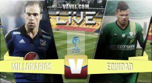 Millonarios vs Equidad en vivo online (1-1)