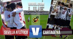 Sevilla Atlético - Cartagena en directo online (2-0)