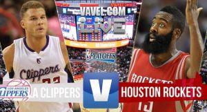 Resultado Los Angeles Clippers vs Houston Rockets Playoffs 2015 (128-95)
