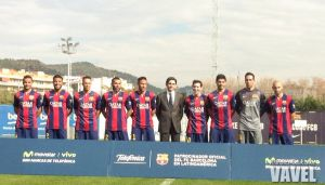 Fotos e imágenes del acto del acuerdo entre el FC Barcelona y Telefónica