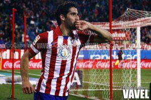 """Raúl García: """"El equipo se ha sacrificado y ha jugado como tenía que jugar"""""""