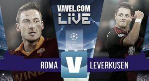 Resultado AS Roma vs Bayer Leverkusen en Champions League 2015 (3-2)
