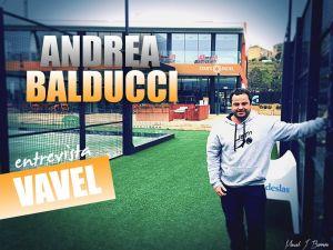 """Entrevista. Andrea Balducci: """"En Italia están como locos por el Pádel"""""""