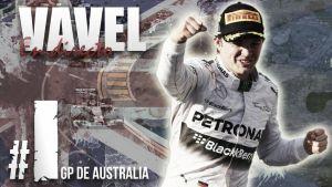 Resultado Entrenamientos Libres 1 del GP de Australia de Fórmula 1 2015