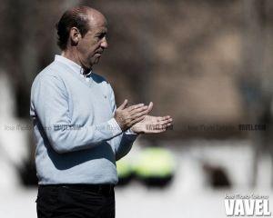 """Ángel Marcos: """"Queremos que ante el Cádiz sea un partido más"""""""