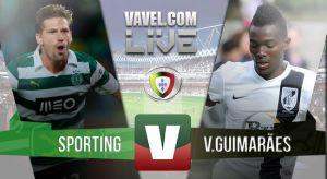 Resultado Sporting vs Vitoria de Guimaraesen la Liga Portuguesa 2015(4-1)