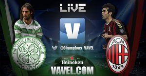 Diretta Celtic - Milan, live della partita di Champions League