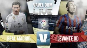 Resultado Real Madrid vs Levante en vivo (2-0)