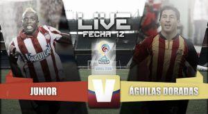 Resultado Junior vs Águilas Doradas en vivo online (1-1)