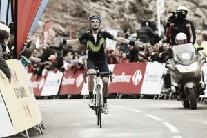 Valverde suma y sigue en la Volta