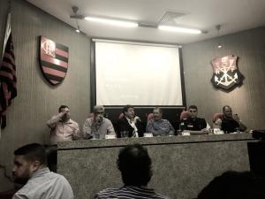 Em coletiva, Flamengo e órgãos públicos detalham operação para duelo contra Emelec