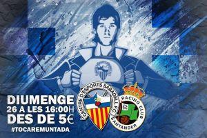 Sabadell - Racing: el partido