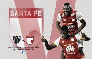 Atlético Mineiro - Santa Fe: por la revancha en tierra 'carioca'