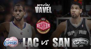 Los Angeles Clippers - San Antonio Spurs: el eterno aspirante pone a prueba a los vigentes campeones