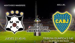 Montevideo Wanderers vs Boca Juniors: En busca de la clasificación