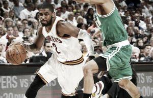 Comandados pelo Big Three, Cavaliers inicia os playoffs com vitória diante do Celtics