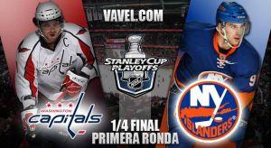 Washington Capitals - New York Islanders: abundante talento y dudas bajo palos