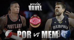 Memphis Grizzlies -Portland Trail Blazers: un duelo inédito